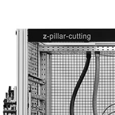 z-pillar cutting Anlage